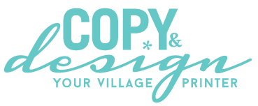 Copy & Design – your village printer